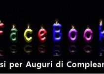 Auguri di compleanno su Facebook